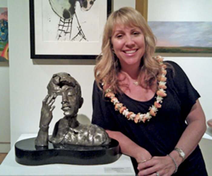 Christine Turnbull wins Art Maui Award