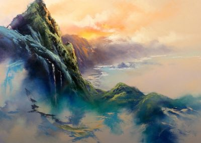 Beyond the Ko'olaus by George Eguchi