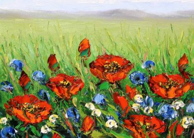Celebrating Red Poppies by Anna Good