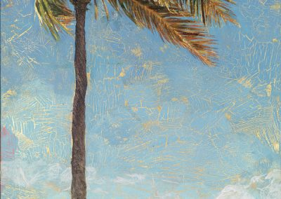 Golden Palm by Taryn Alessandro, painting