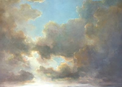 dream space, painting by julie houck, maui artist