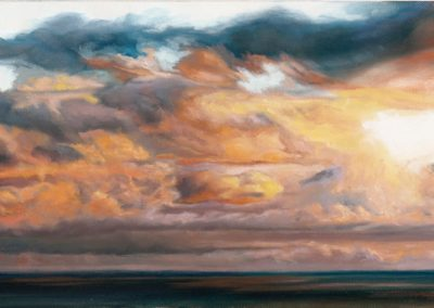 Cadmium Cumulus by Monica Guillory