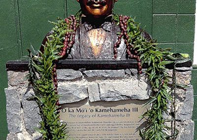 King Kamehameha III by Christine Turnbull
