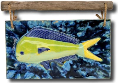 Mahi Mahi Wall Plaque by Albert Molina