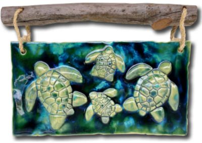 4 Turtles Wall Plaque by Albert Molina
