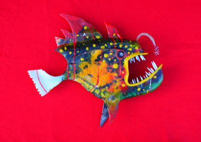 Fish Sculpture by Aaron Loyd