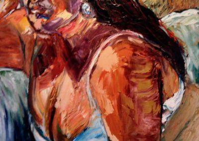 Painting by Lynn Garzino Rabe, maui artist