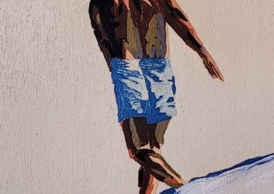 painting by -Jaclynn-Sabado-Eitel, Backside