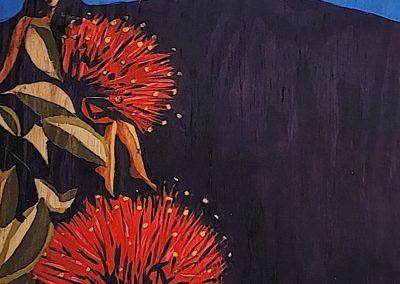 painting by -Jaclynn-Sabado-Eitel, Mauna Magic